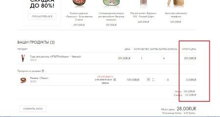 Цены на продукцию Орифлэйм