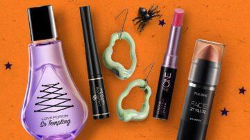 Скидки до 60% на средства для макияжа, аксессуары и другие продукты к Хэллоуину