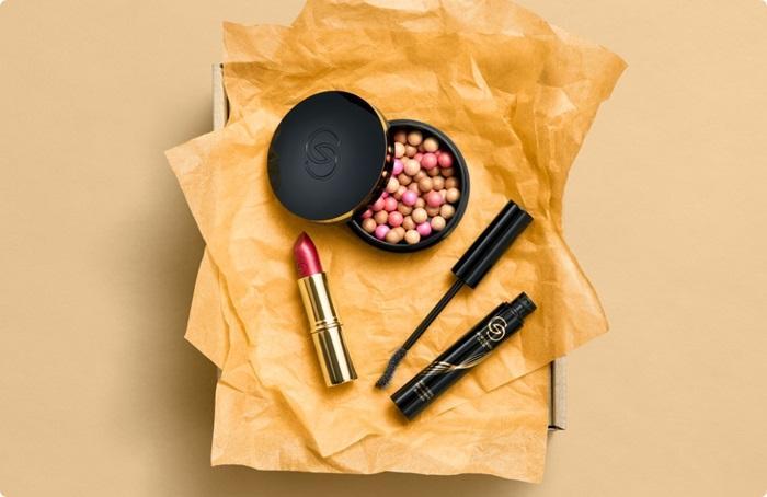Набор Giordani Gold в подарочной крафтовой упаковке