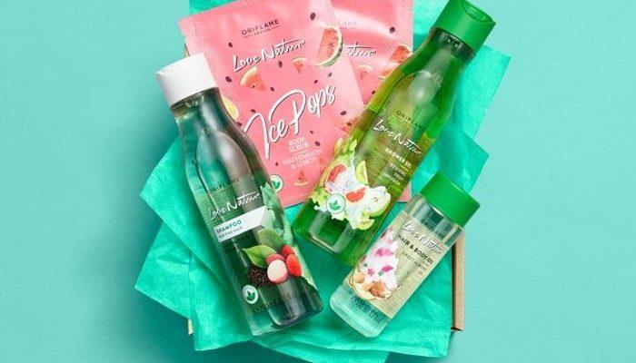 Набор Love Nature в подарочной крафтовой упаковке