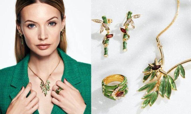 Norrsken Festive ожерелье ручной работы